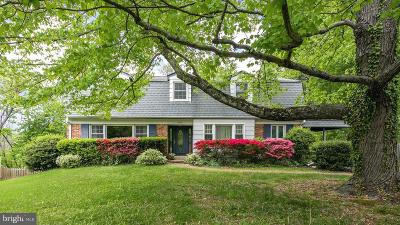 Fairfax County Single Family Home For Sale: 8410 Blakiston Lane