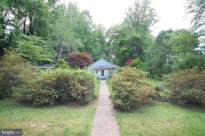 Fairfax, Fairfax Station Single Family Home For Auction: 5224 Summit Drive