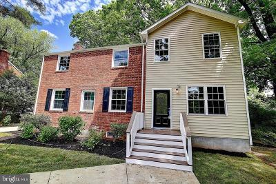 Falls Church Single Family Home For Sale: 2655 West Street