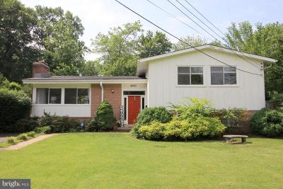 Alexandria Single Family Home For Sale: 8923 Battery Road