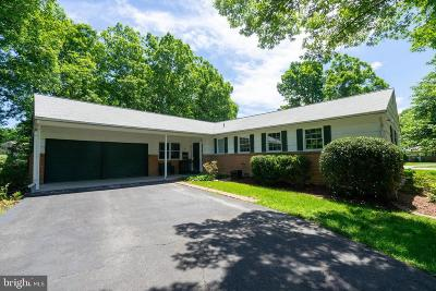 Springfield Single Family Home For Sale: 6001 Sherborn Lane