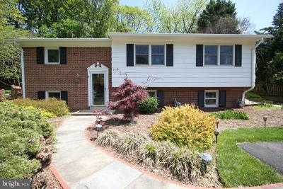 McLean Single Family Home For Sale: 1719 Valley Avenue
