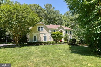 Centreville, Clifton Single Family Home For Sale: 7700 Rose Gate Court