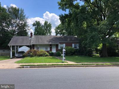 Falls Church Single Family Home For Sale: 6521 Roosevelt Street