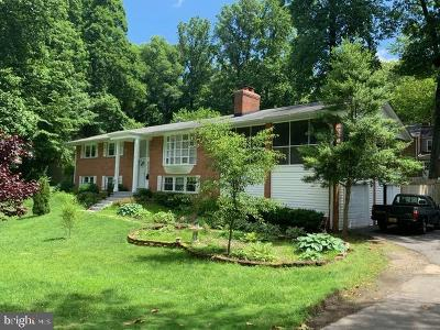 Fairfax Single Family Home For Sale: 9126 Santayana Drive