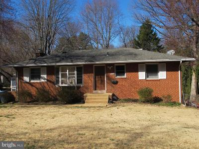 Vienna Single Family Home For Sale: 9020 Dellwood Drive