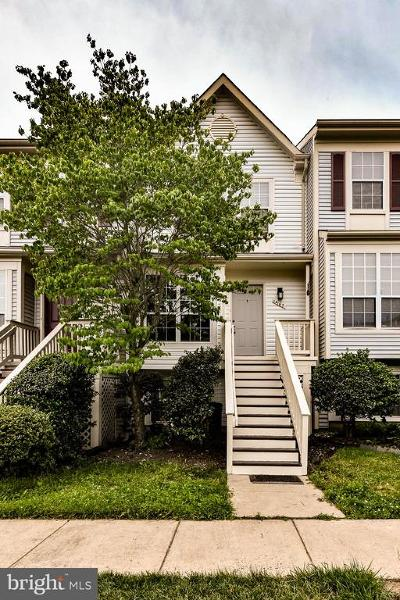Centreville, Clifton Townhouse For Sale: 14167 Autumn Circle