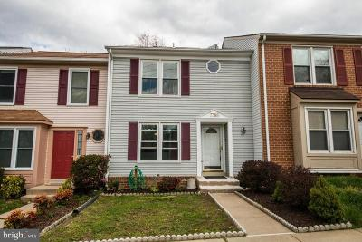 Springfield Townhouse For Sale: 7388 Stream Way