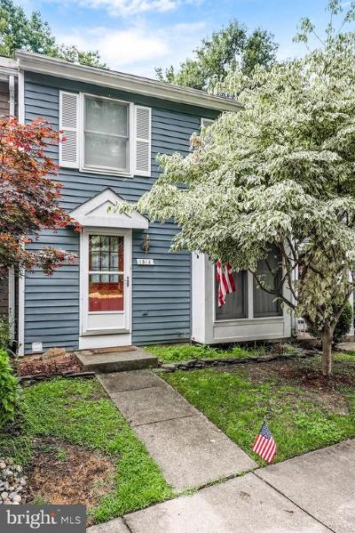 Reston Townhouse For Sale: 1514 Poplar Grove Drive