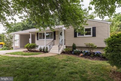 Fairfax County Single Family Home For Sale: 1719 Olney Road