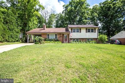 Centreville, Clifton Single Family Home For Sale: 14907 Carlbern Drive