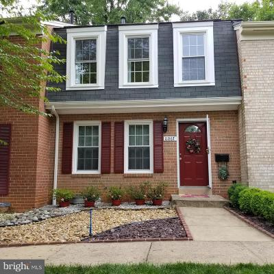 Fairfax County Townhouse For Sale: 11867 Dunlop Court