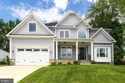 Fairfax County Single Family Home For Sale: 7606 Leonard Drive