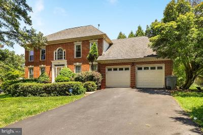 Fairfax Single Family Home For Sale: 2909 Maple Lane