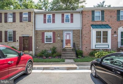 Fairfax Townhouse For Sale: 9690 Lindenbrook Street
