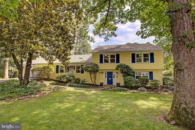 Lake Barcroft Single Family Home Active Under Contract: 6213 Waterway Drive
