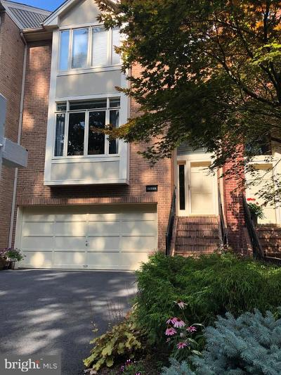 Reston Townhouse For Sale: 11518 Hemingway Drive
