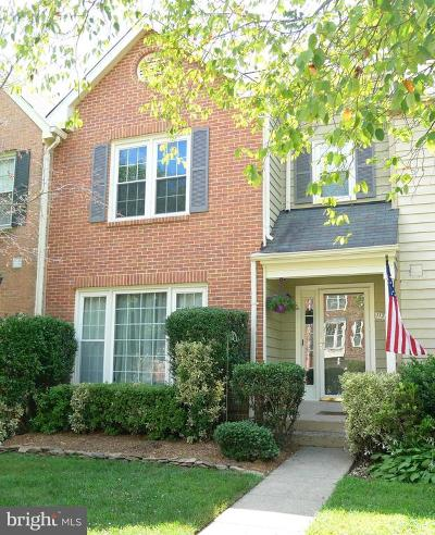 Reston Townhouse For Sale: 11764 Great Owl Circle
