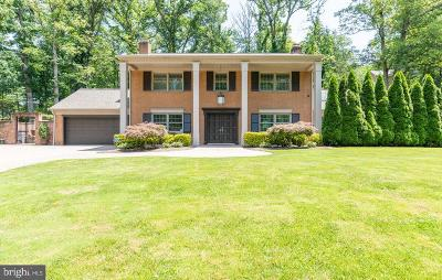 Alexandria Single Family Home For Sale: 7305 Fort Hunt Road
