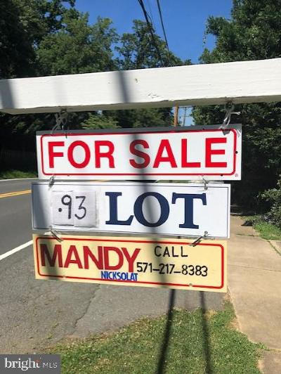 Falls Church Residential Lots & Land For Sale: 7131 Idylwood Road