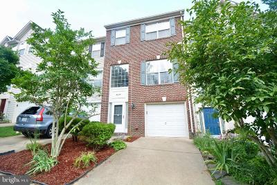 Springfield Townhouse For Sale: 8354 Jovin Circle