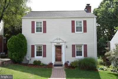 Falls Church Single Family Home Under Contract: 2825 Greenway Boulevard