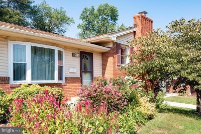 Alexandria Single Family Home For Sale: 6616 Beddoo Street