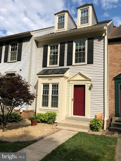 Springfield Townhouse For Sale: 8444 Springfield Oaks Drive