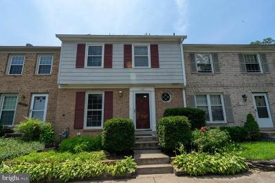 Springfield, Burke Townhouse For Sale: 7380 Jiri Woods Court