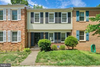 Springfield Townhouse For Sale: 7741 Durer Court
