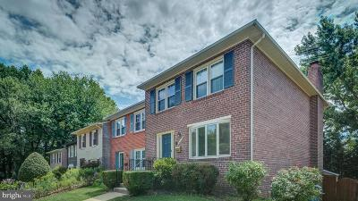 Annandale Townhouse For Sale: 4714 Exeter Street