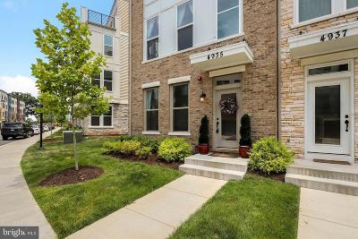 Chantilly Townhouse For Sale: 4935 Trail Vista Lane