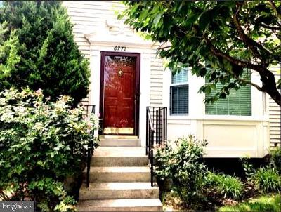 Centreville Rental For Rent: 6772 Jenny Leigh Court