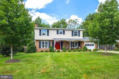 Alexandria Single Family Home For Sale: 8811 Stockton Parkway