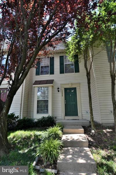 Centreville Townhouse For Sale: 14225 Upperridge Court