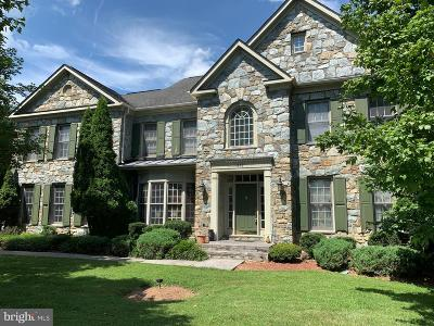 Great Falls VA Single Family Home Under Contract: $999,000