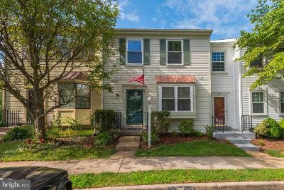 Centreville, Clifton Townhouse For Sale: 13661 Wildflower Lane