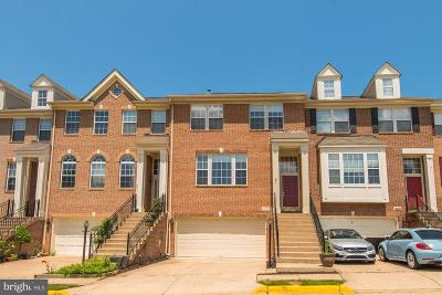 Fairfax County Townhouse For Sale: 2656 Logan Wood Drive