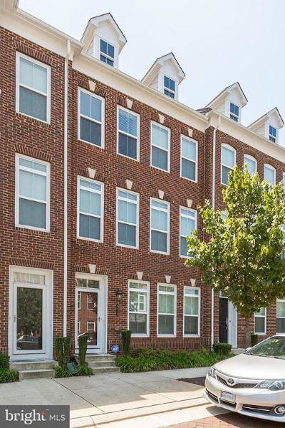 Fairfax County Townhouse For Sale: 9618 Stockwell Lane