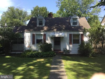 Alexandria Single Family Home For Sale: 6408 13th Street