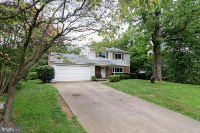 Dunn Loring Single Family Home Under Contract: 8102 Bright Meadows Lane