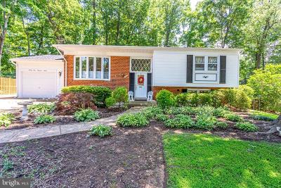 Fairfax County Single Family Home Active Under Contract: 2407 Holt Street