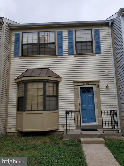 Centreville, Clifton Townhouse For Sale: 13572 Jasper Lane