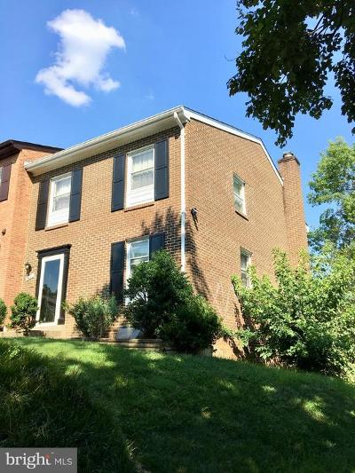 Annandale Townhouse For Sale: 7459 Zanuck Court