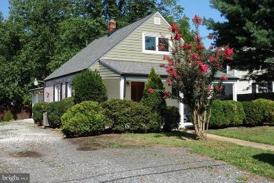 Falls Church Single Family Home For Sale: 2912 Harrison Road