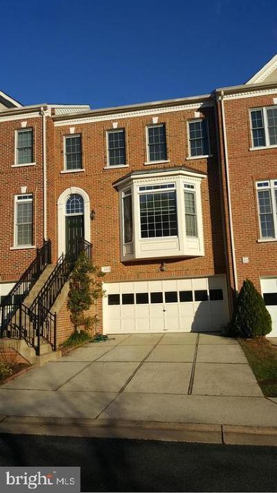 Fairfax Townhouse For Sale: 4512 Fair Valley Drive
