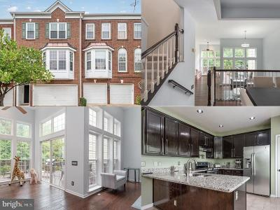 Centreville, Clifton Townhouse For Sale: 13428 Matthews Vista Drive