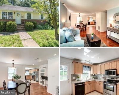 Falls Church Single Family Home For Sale: 7715 Lunceford Lane