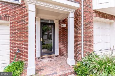 Fairfax County Townhouse For Sale: 4024 Werthers Court