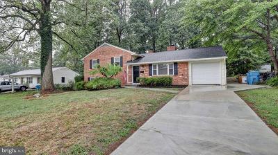 Fairfax County Single Family Home For Sale: 5507 Heming Avenue